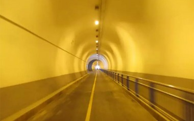 760 meters space-time tunnel