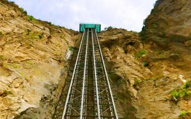 208m panoramic sightseeing elevator