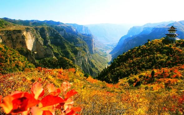 Autumn Eight Springs Gorge